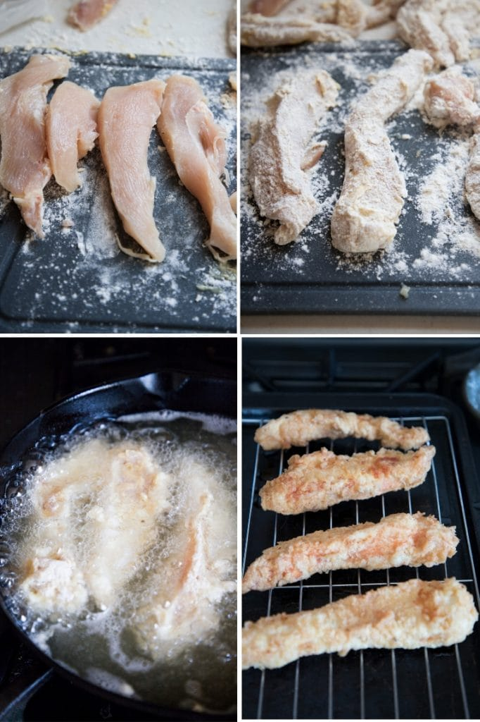 nashville hot fried chicken step by step pictures.