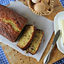 Easy banana nut bread is the best beginner's bread to try. Just mix and bake and this one's made even better with my secret ingredient.