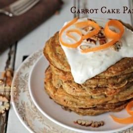 carrot cake pancakes