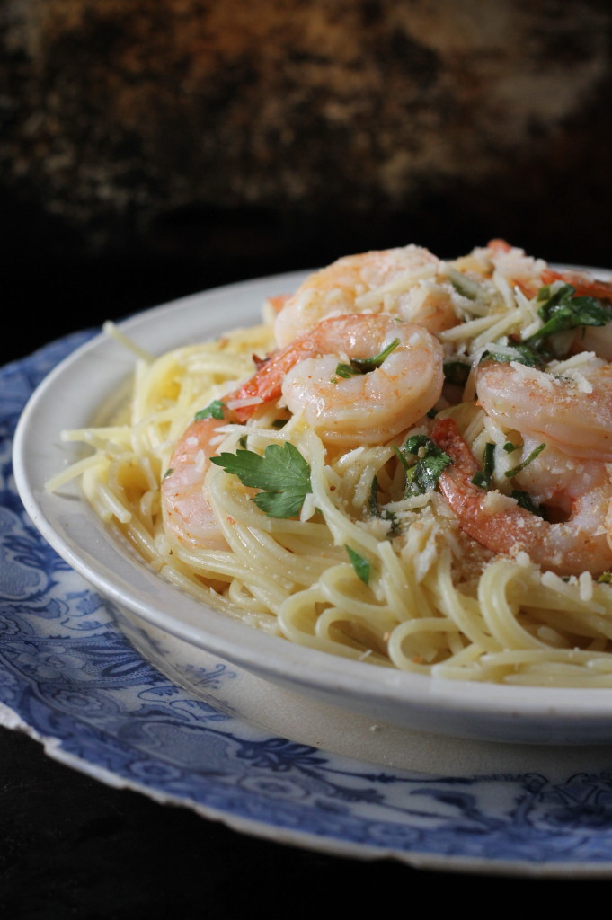 Baked Shrimp Scampi Pasta The Country Contessa