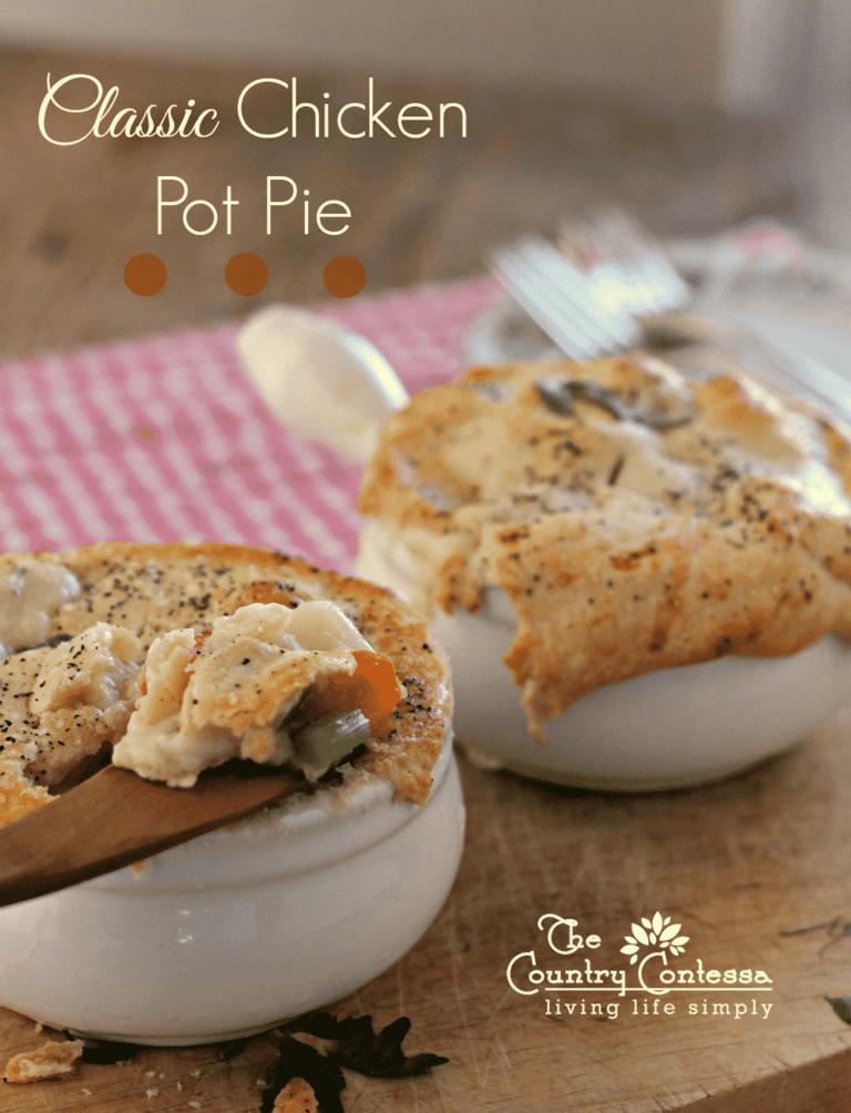 Classic Chicken Pot Pie   The Country Contessa