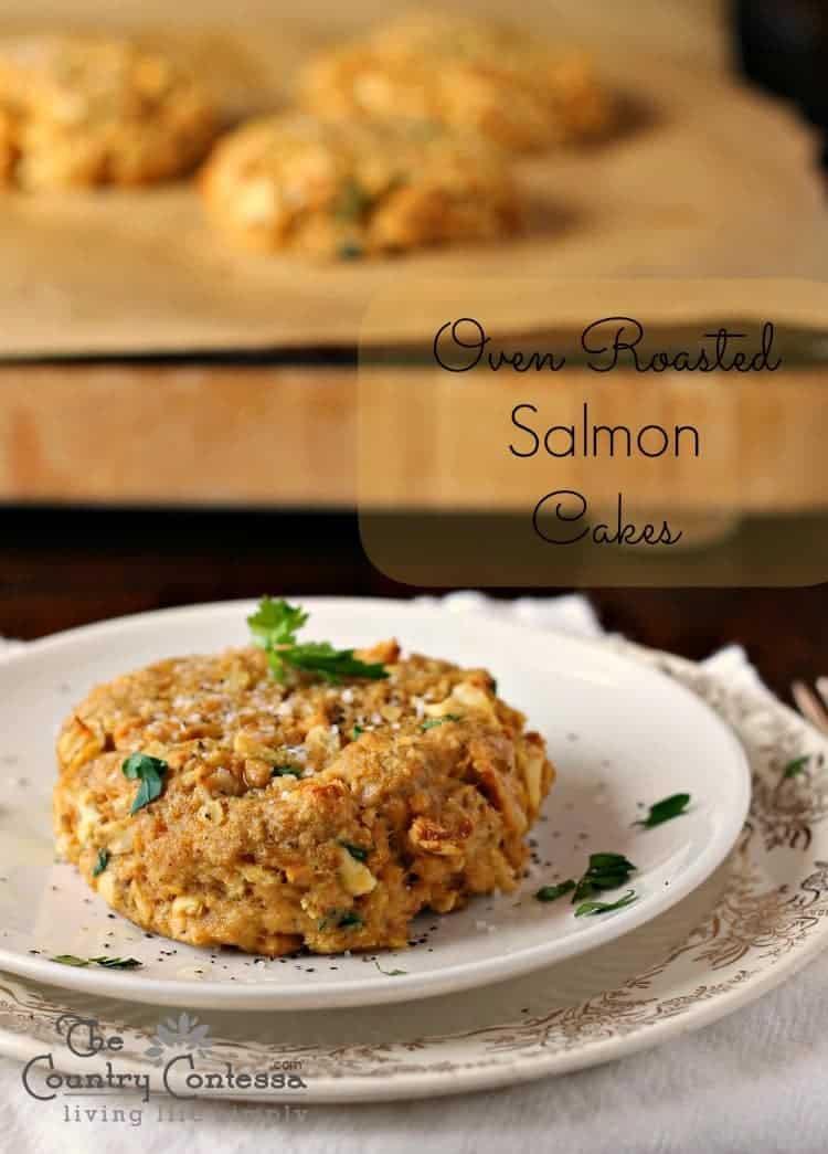 Oven Roasted Salmon Cakes Feast And Farm