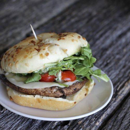 Portobello Mushroom Sandwiches Feast And Farm