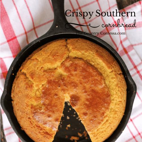 Southern Cornbread Recipe | Feast and Farm