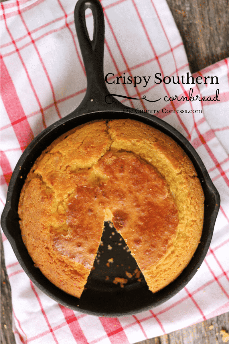 recipe: homemade southern cornbread [6]