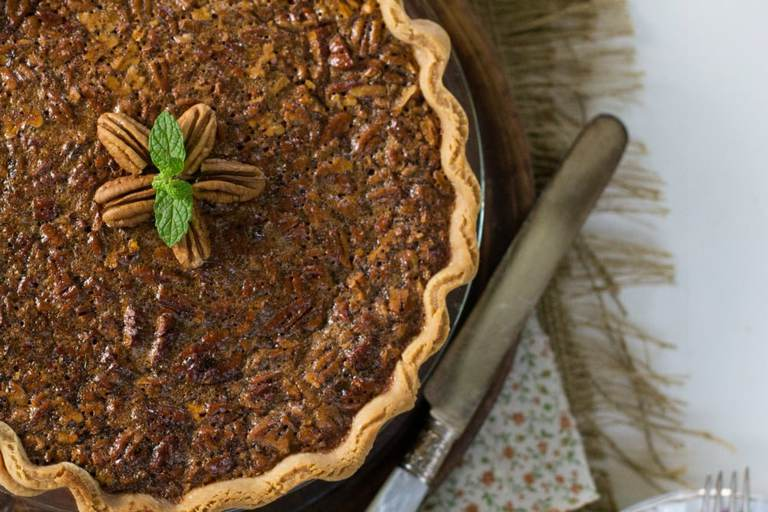 Pecan pie is a southern speciality that's just mix and bake. Just right for any beginner baker.