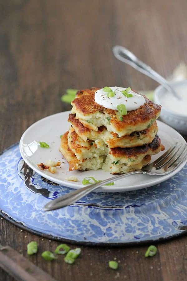 Mashed potato cakes are a true southern classic and easy side dish.
