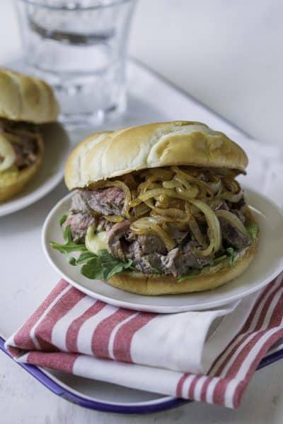 30 Minute Steak Sandwiches