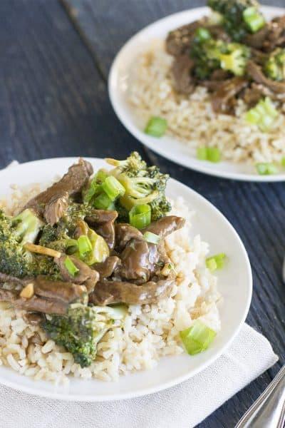 15 Minute Broccoli Beef Stir Fry