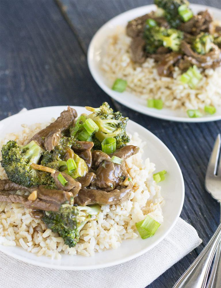 15 Minute Broccoli Beef Stir Fry