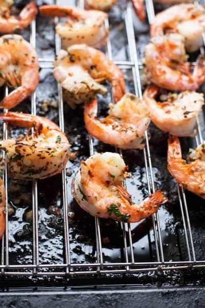 Easy Roasted Garlic Shrimp