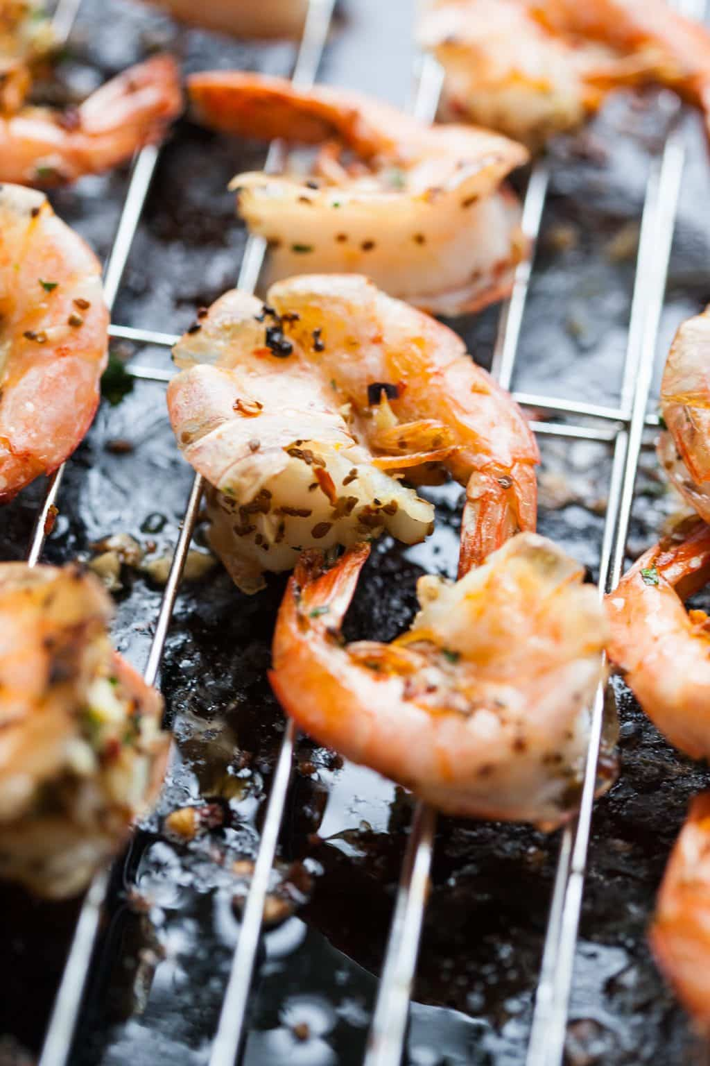 Easy roasted garlic shrimp the country contessa for I want to cook something different for dinner