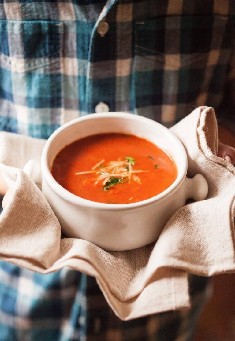 creamy tomato soup the country contessa