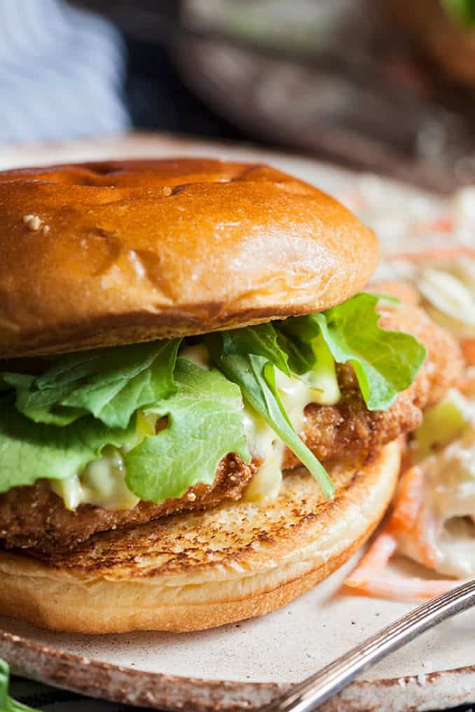 take that fried catfish and make it in to the best sandwich. Add lettuce, tartar sauce and a toasty bun.