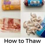 Doggone it. Dinner's frozen. Now what? Follow these steps to thaw frozen meat evenly in a flash.