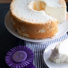 a whole angel food cake