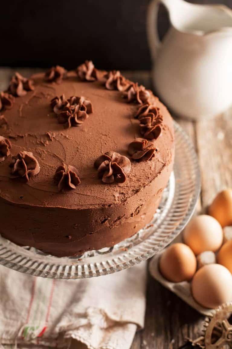 Buttermilk Chocolate Cake Feast And Farm