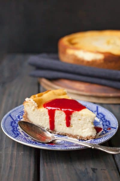 A simple, classic cheesecake topped with tangy raspberry sauce doesn't have to be complicated. Get all the tips and secrets here.