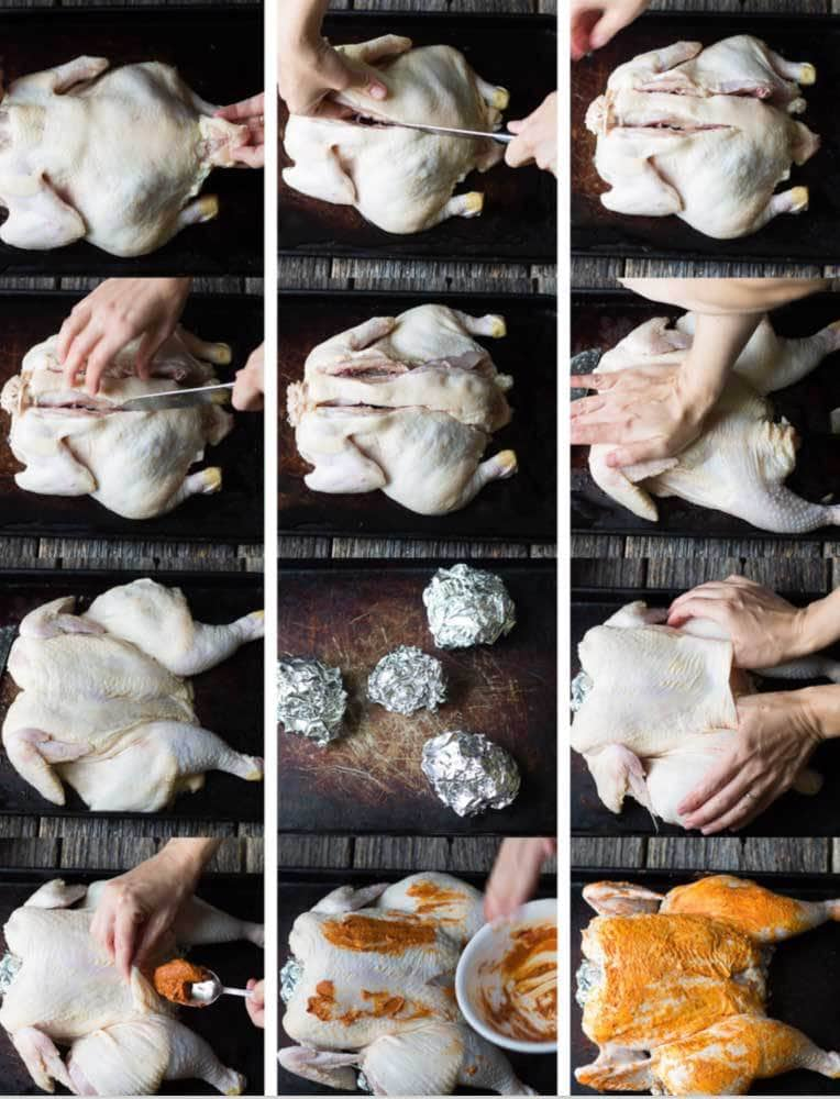 the steps to roast a chicken