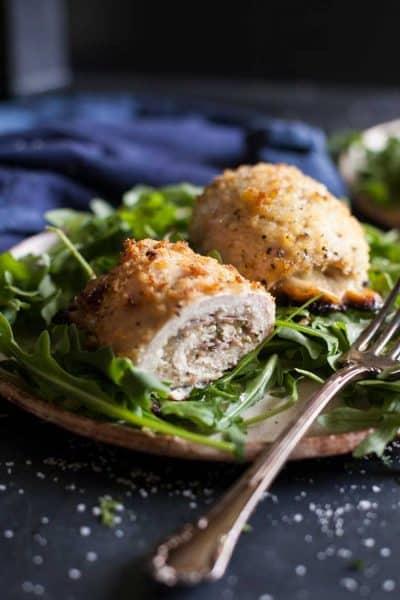 Provolone and Prosciutto Chicken Rollatini