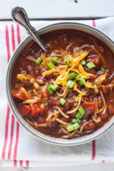 Southern Chili Recipe