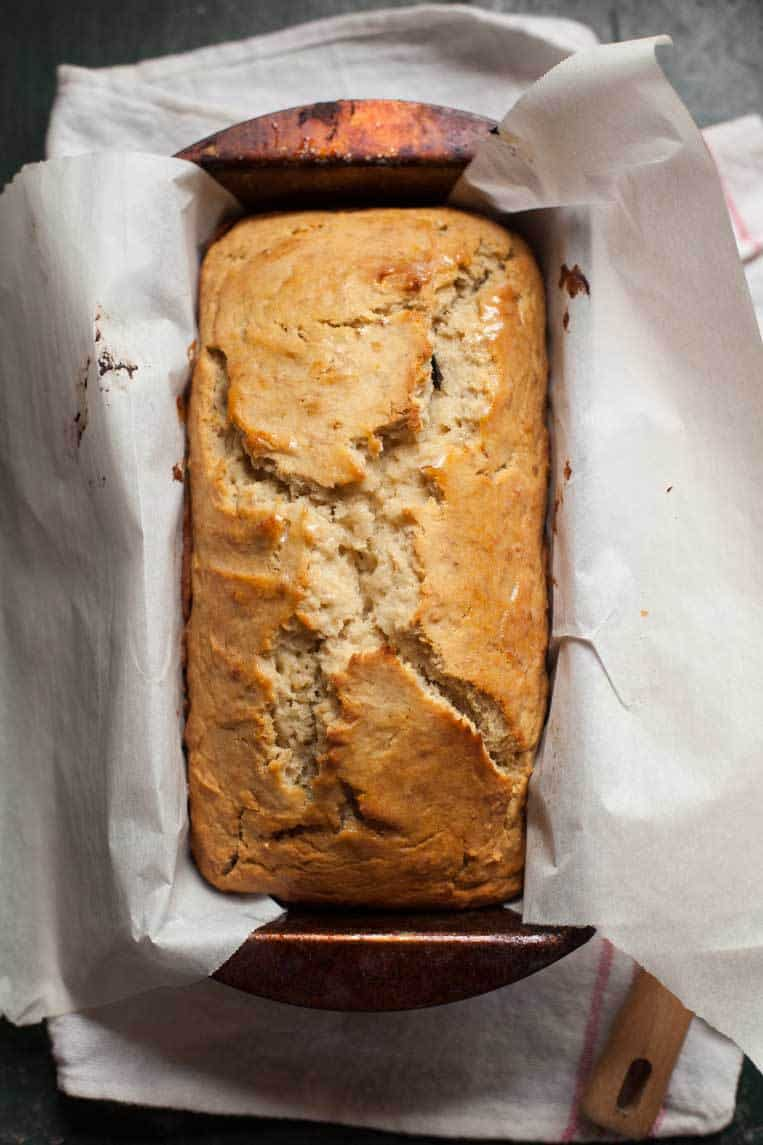 Easy Gluten Free Banana Bread Dairy And Refined Sugar Free Too Feast And Farm