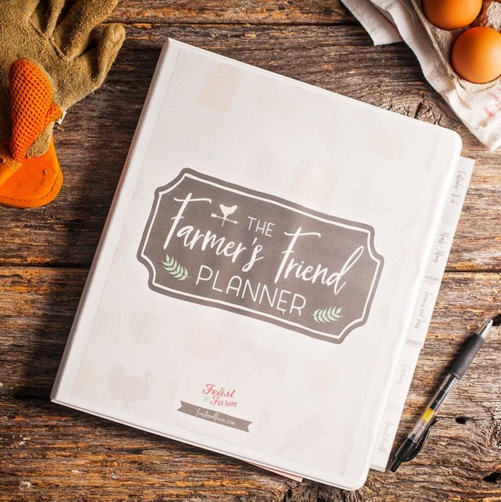 The Farmer's Friend Planner