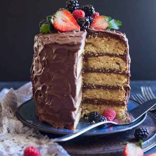 yellow gluten free cake