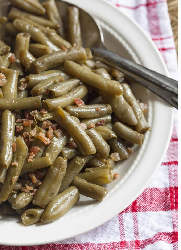 How To Make Canned Green Beans Taste Better The Country Contessa