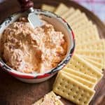 Homemade pimento cheese is a tangy, creamy southern staple you can make from scratch with just a few simple ingredients.