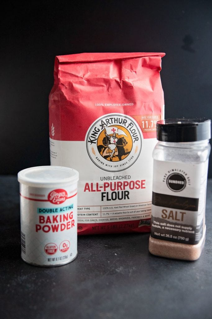 the three ingredients used to make self rising flour