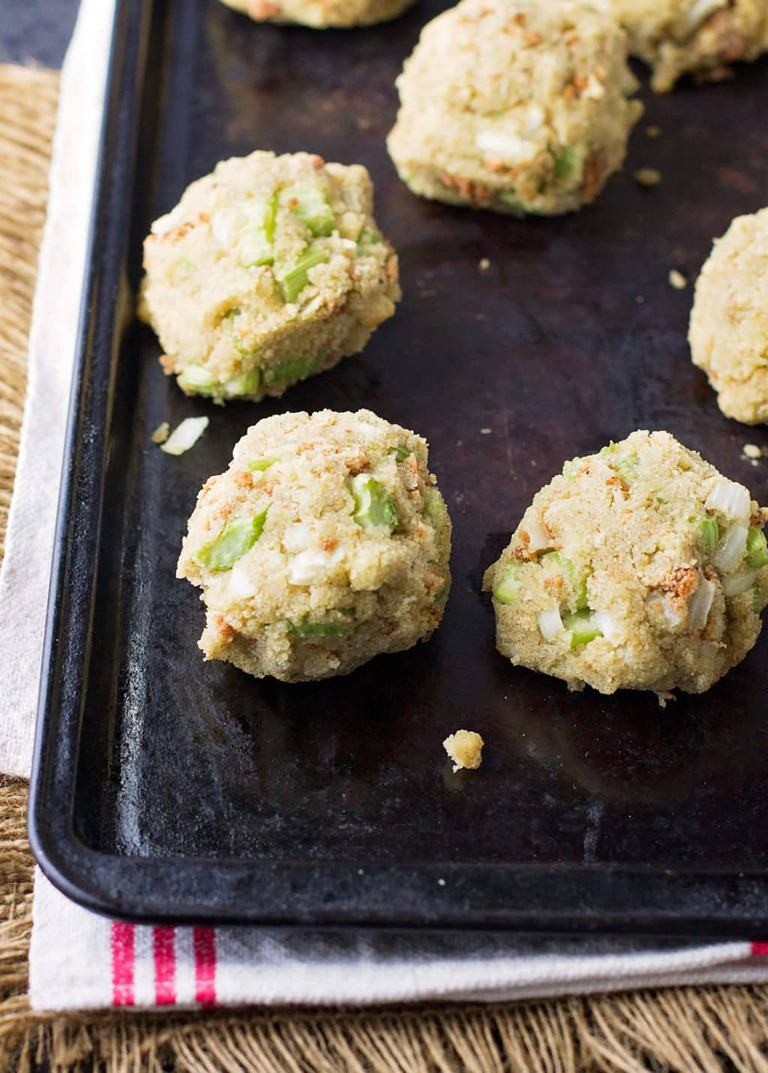 Looking for that classic southern cornbread dressing for your holiday table? Because here it is. Bake them as individual balls or in a casserole dish. Freezes great and can be rewarmed for your big meal.