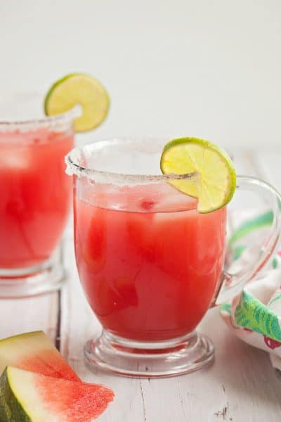 Sweet and Tangy Watermelon Limeade