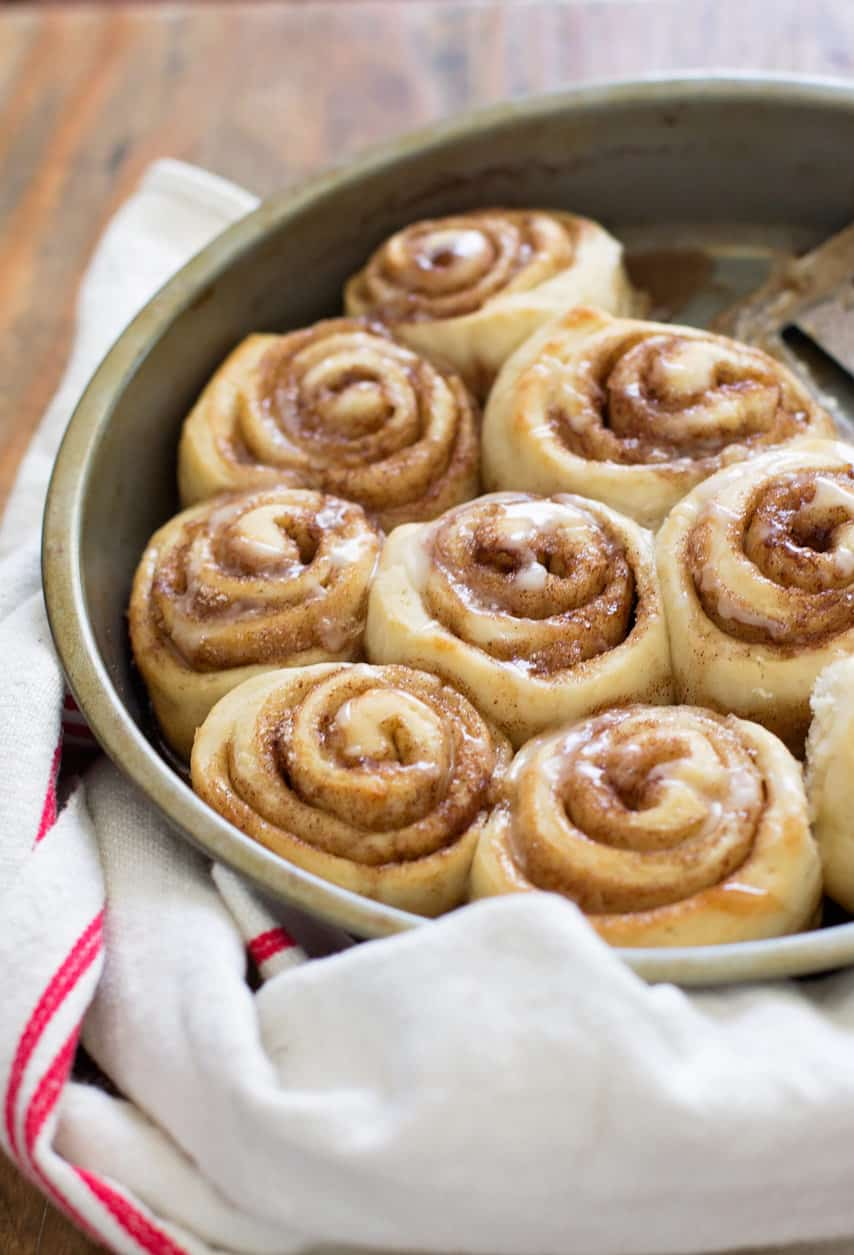 The World S Easiest Cinnamon Rolls Feast And Farm