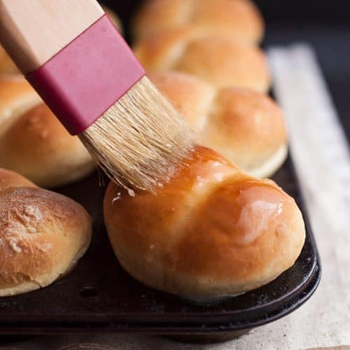 These easy yeast rolls make the perfect dozen for your next meal.